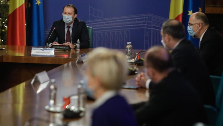 2020-10-23 prima sedinta guvern citu ministri inquam george calin -2109