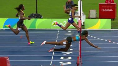sportiva plonjare atletism