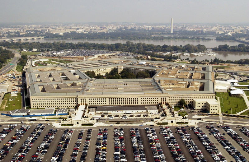 Aerial Photo Of The Pentagon