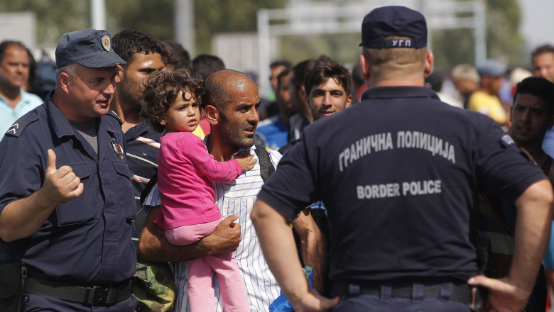 Migrants Head For Croatia
