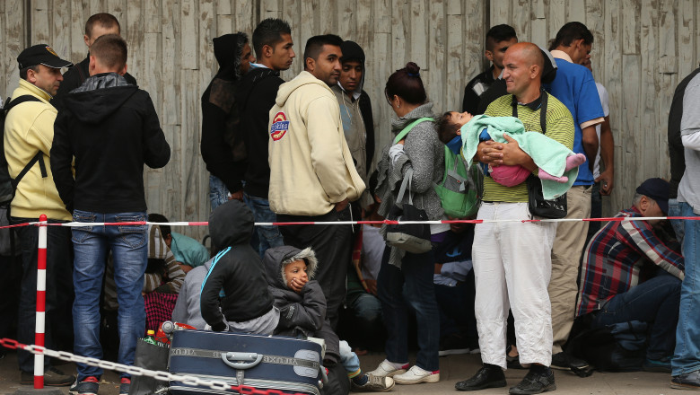 Migrants And Refugees Arrive In Record Numbers