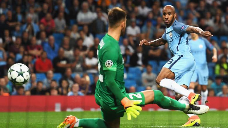 Manchester City v Steaua Bucharest - UEFA Champions League