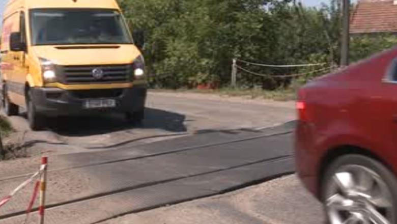 gropi drum autostrada timis