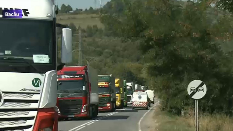 camioane protest rca