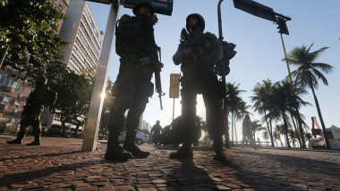 Brazilan Armed Forces Begin Patrolling Venue Areas Ahead of Rio 2016 Olympic Games