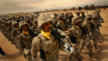 Graduation Ceremony For 4th Brigade Of The 5th Division Of Iraqi Army