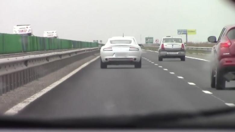 maserati in trafic