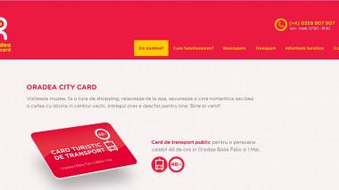 Oradea city card