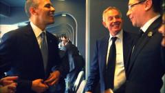 Barack Obama Tony Blair si Victor Ponta