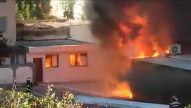 incendiu_centru_de_recoltare_captura