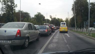 trafic nord Bucuresti pasaj Casa Presei 150916