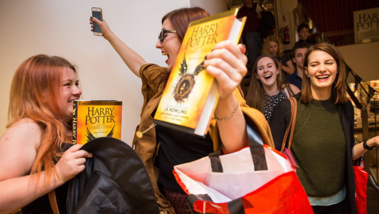 """Harry Potter & The Cursed Child"" - Book Release At Foyles"