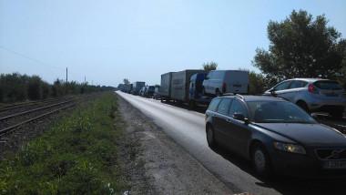 Trafic blocat, protest TIR, centura Bucuresti_digivox (1)