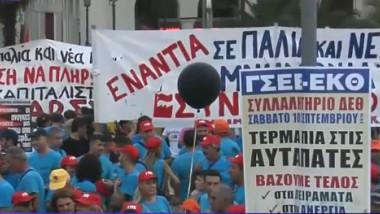 proteste salonic