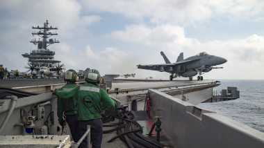 USS Eisenhower Conducts Naval Operations in Mediterranean