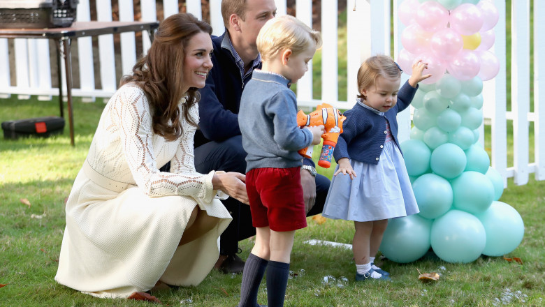2016 Royal Tour To Canada Of The Duke And Duchess Of Cambridge - Victoria