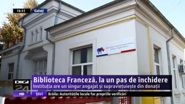Biblioteca Franceza Digi24 Galati