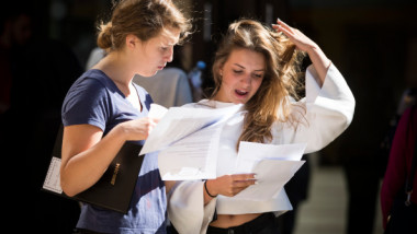 GCSE Results Are Released In The UK
