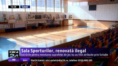 Sala Sporturilor, renovata ilegal