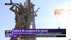 Tabără de sculptură în metal