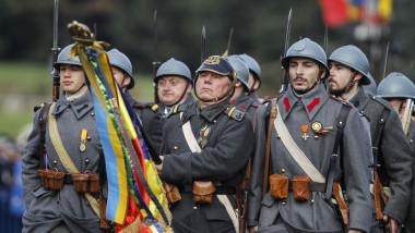 ZIUA NATIONALA A ROMANIEI - PARADA - BUCURESTI
