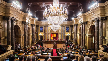 Catalan Parliament Votes To Start The Independence Process