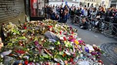 <> on November 15, 2015 in Paris, France.