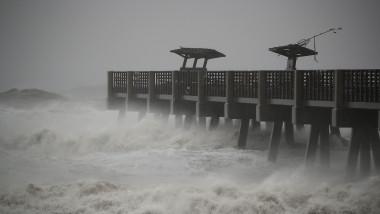 Hurricane Matthew Bears Down On Atlantic Coast