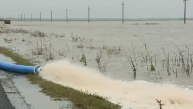 motopompa evacuare apa inundatii