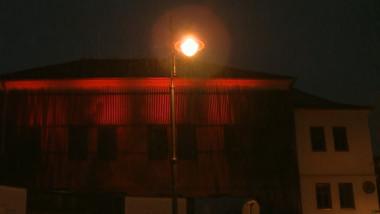 teatru sibiu roz protest urs omorat