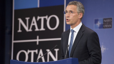 Meetings of the Defence Ministers at NATO Headquarters in Brussels- Press Conference NATO Secretary General Jens Stoltenberg