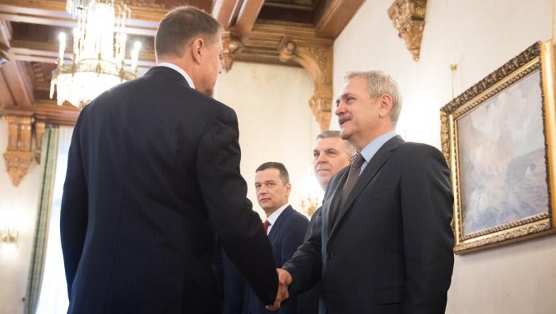 iohannis dragnea - presidency