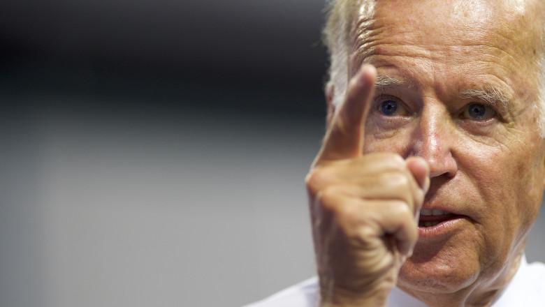 Vice President Joe Biden Campaigns With Democratic Presidential Candidate Hillary Clinton in Scranton, PA