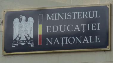 ministerul educatiei nationale