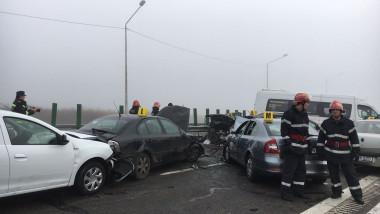 ACCIDENT RUTIER GRAV- AUTOSTRADA SOARELUI