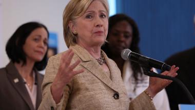 Hillary Clinton Campaigns Across Florida