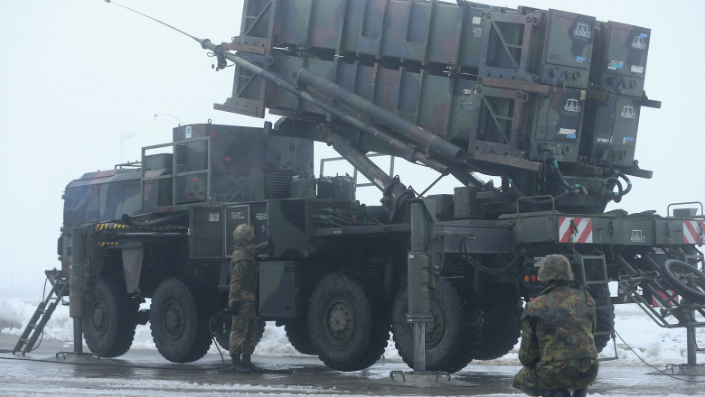 Germany To Send Patriot Missiles To Turkey