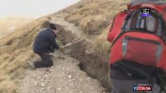 crapatura pe munte seism italia