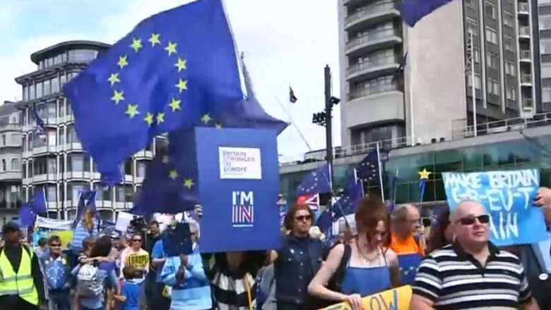 brexit miting pro europa
