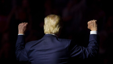 Republican Presidential Nominee Donald Trump Holds Rally In New Hampshire On Eve Of Election