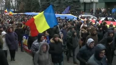Igor Dodon amenință manifestanții cu contraproteste