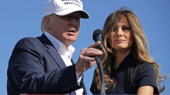 Donald Trump Campaigns In Key States During Weekend Ahead Of General Presidential Election