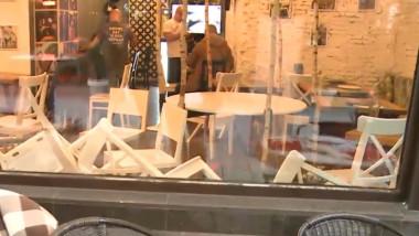 bar devastat centrul vechi
