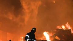 pompier incendiu