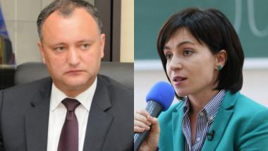 Moldovenii îşi aleg preşedintele | Igor Dodon sau Maia Sandu?