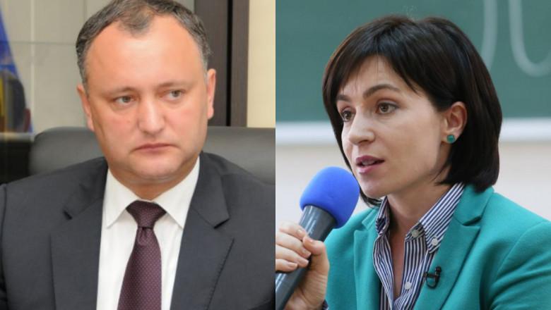 Socialiştii lui Igor Dodon cer demisia Maiei Sandu şi alegeri prezidenţiale anticipate