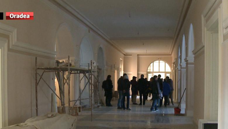 Muzeul Ţării Crşurilor clădire lucrări