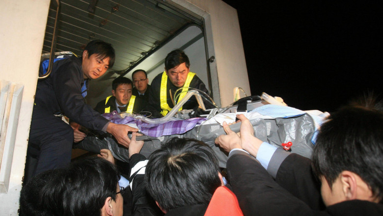 Humanitarian Rescue Charter Flight Carried Out Between Shanghai And Taiwan
