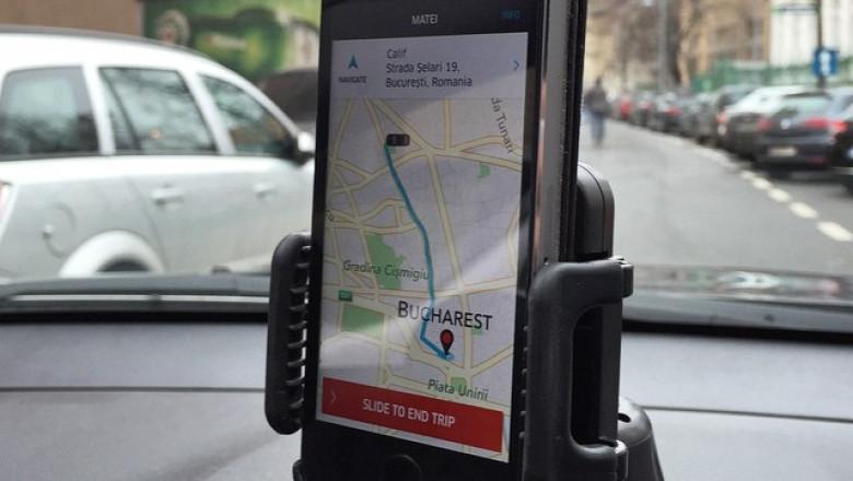 Uber Bucuresti - mariciu.ro