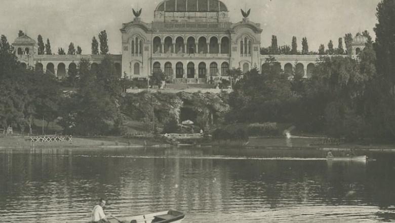 palatul artelor din parcul carol